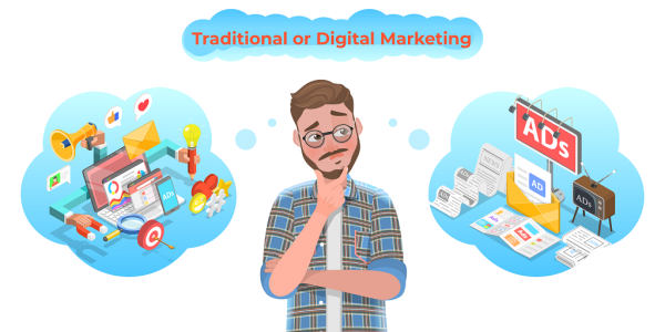 Market to Market: Deciding Between Traditional or Digital Marketing