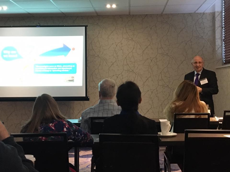 NAPCO's Steve Zamborsky Attended the 2017 CoatingsTech Conference