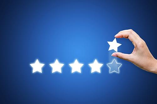 INTRODUCING NAPCO'S PRODUCT RATING AND REVIEW FEATURE