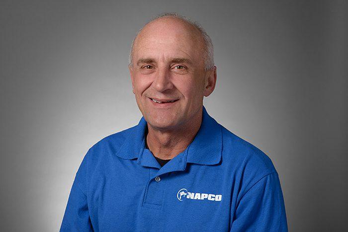Simon Newton, head of training at NAPCO