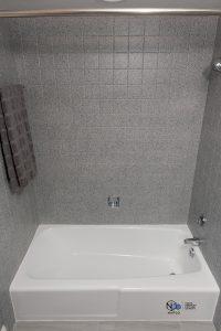 bath shower refinishing - after