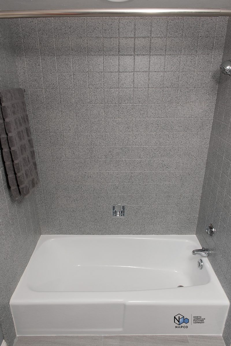 bath shower refinishing - after