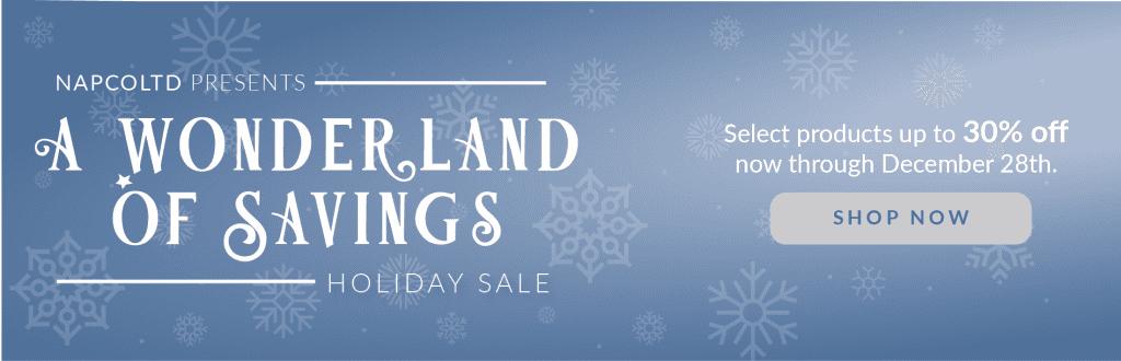 NAPCO Holiday Product Sale