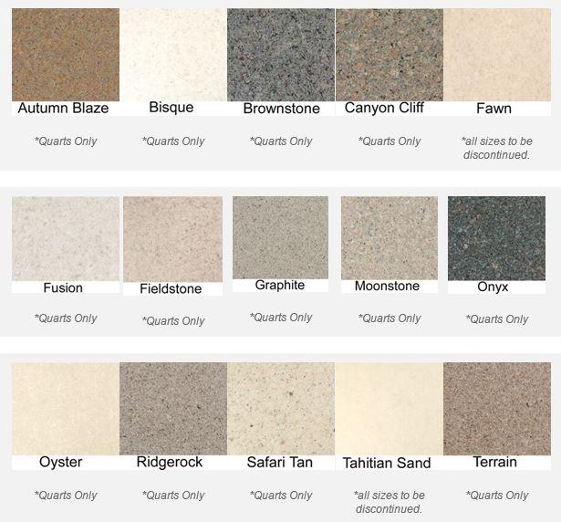 flint stone coating colors