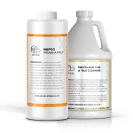 NAPCO's PolyClean Tub & Tile Cleaner vs Piranha Prep