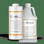 NAPCO's PolyClean Tub & Tile Cleaner vs Piranha Prep