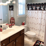 Home (on the throne) for the Holidays With Bathroom Refinishing by NAPCO