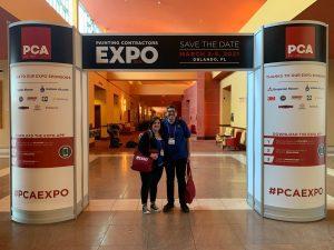 NAPCO representatives at the PCA Expo